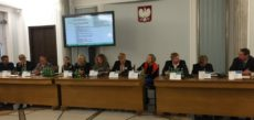 Tuconfin al Parlamento di Varsavia, la conferenza